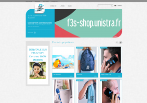 Screenshot F3S Shop Unistra